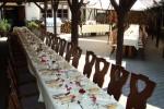 Letní svatební tabule